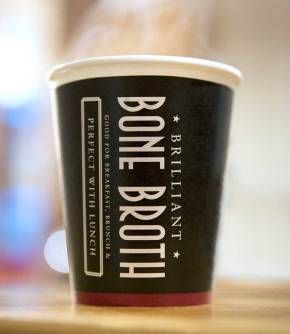 Pret A Manger's Bone Broth in London: Improve Your Gut Health On The Go!