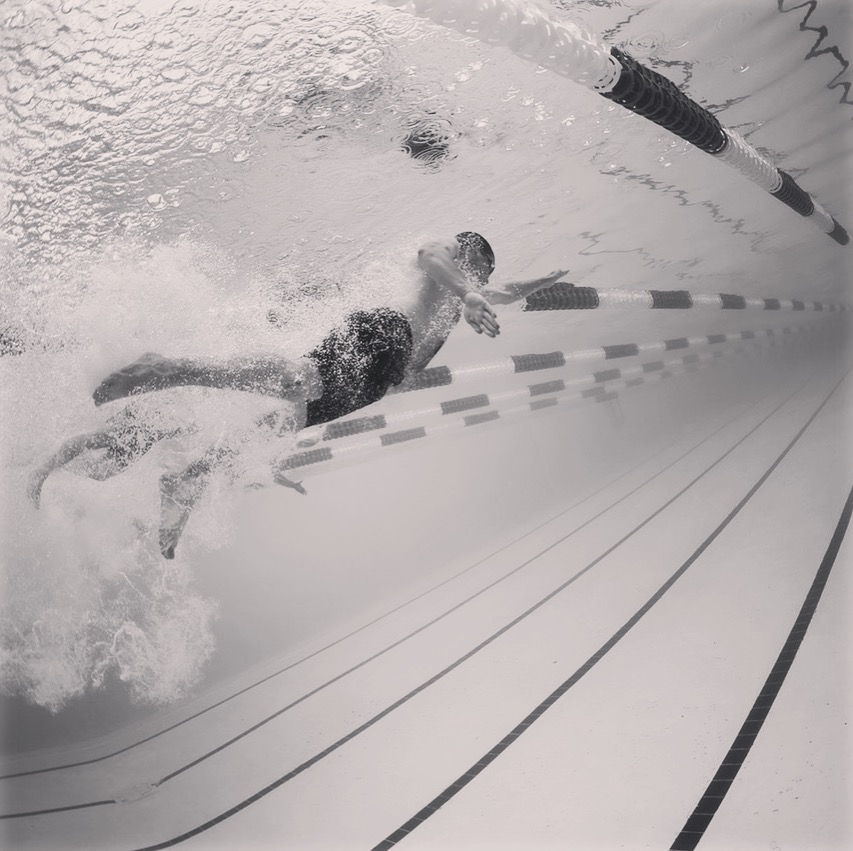 Vitality+Awesomeness Swimming B&W 1